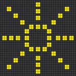 Alpha pattern #58677