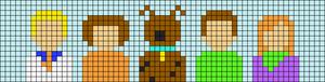 Alpha pattern #58682