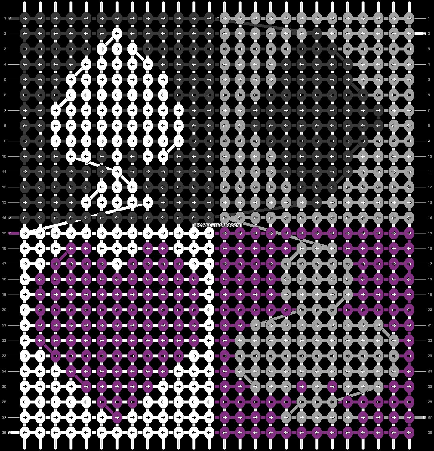 Alpha pattern #58704 pattern