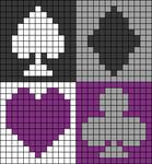 Alpha pattern #58704