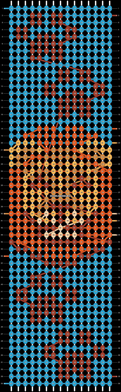 Alpha pattern #58706 pattern