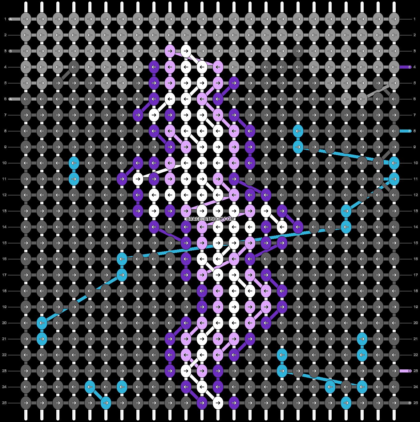 Alpha pattern #58709 pattern