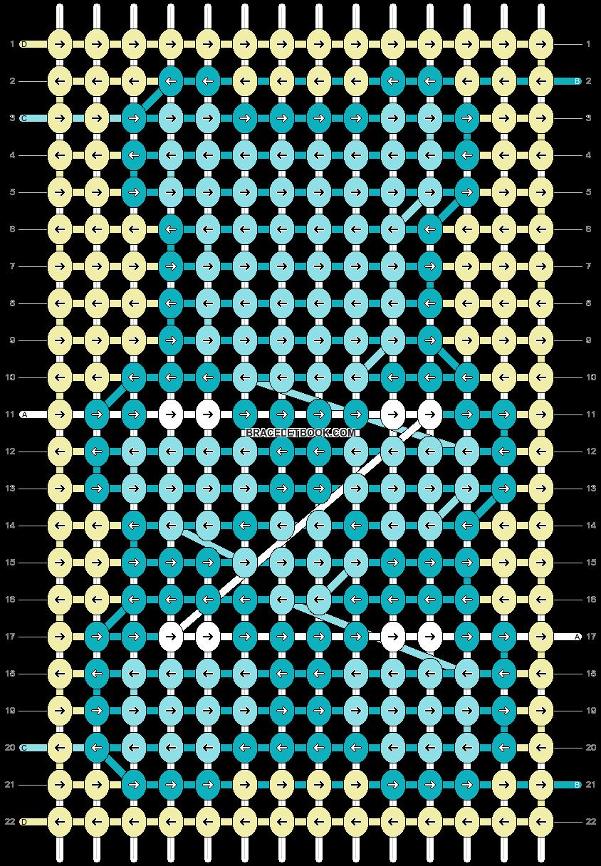 Alpha pattern #58710 pattern