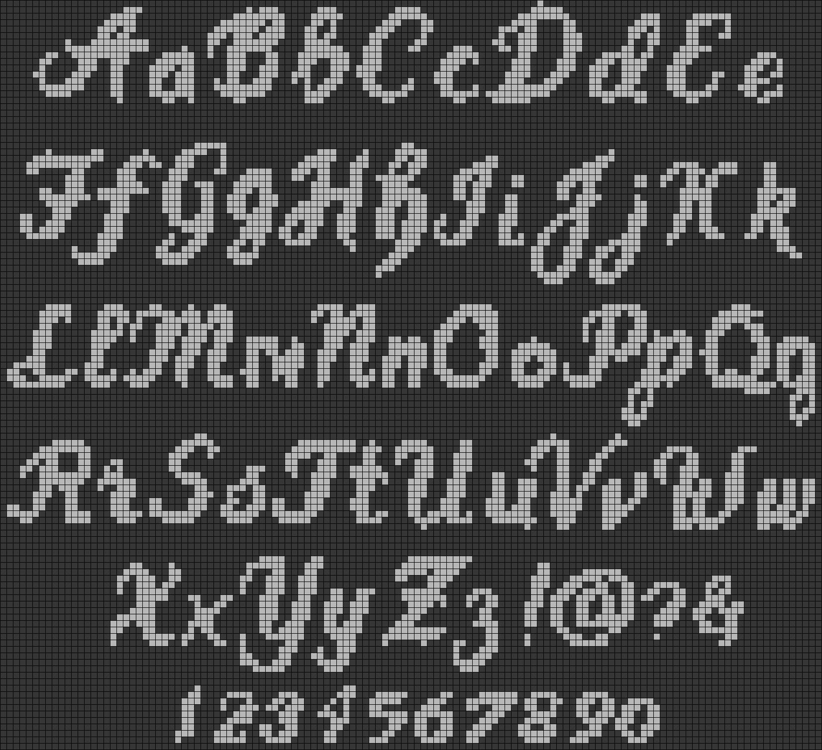 Alpha pattern #58713 preview