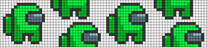 Alpha pattern #58778