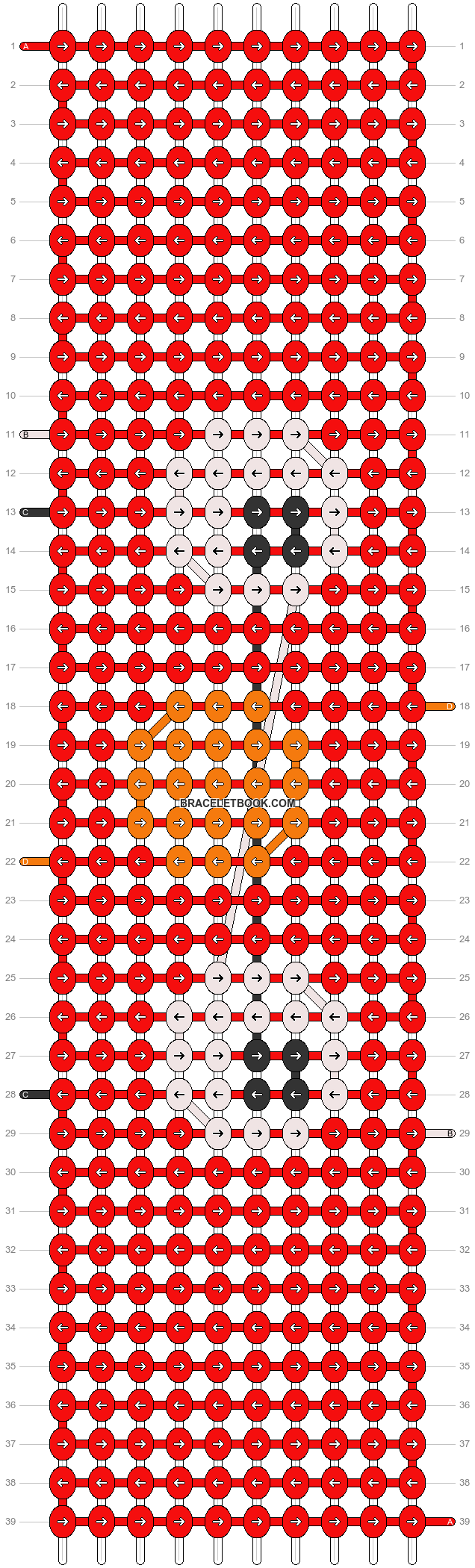 Alpha pattern #58801 pattern