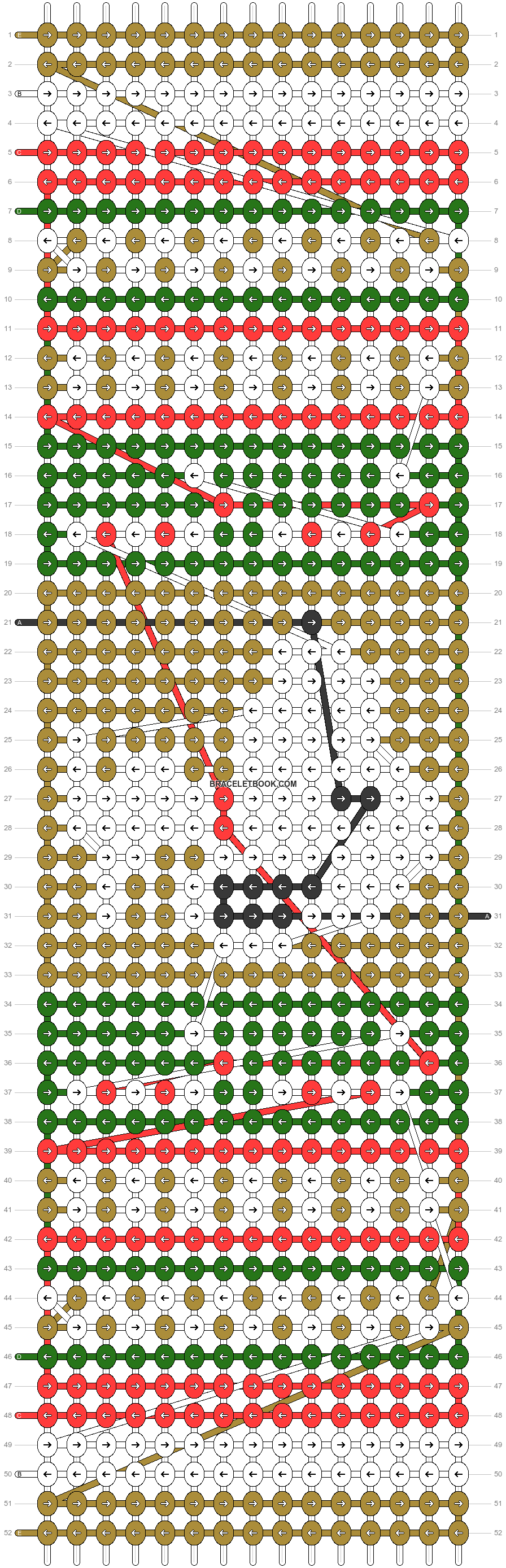 Alpha pattern #58822 pattern