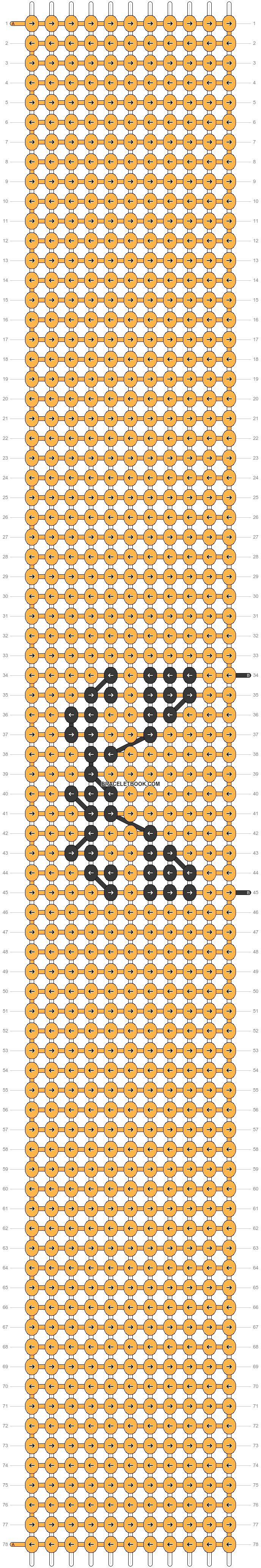 Alpha pattern #58838 pattern