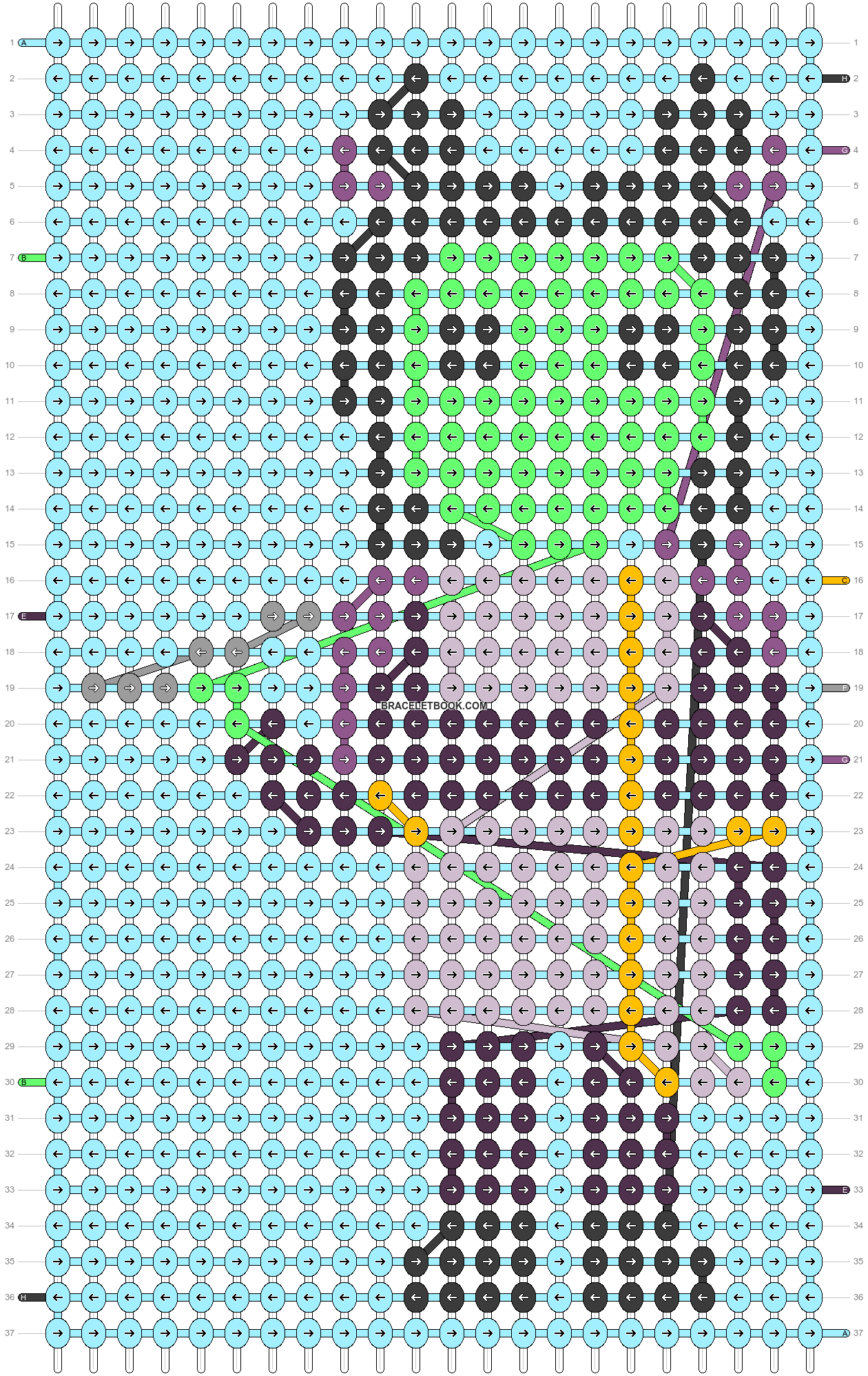 Alpha pattern #58851 pattern