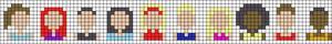 Alpha pattern #58870