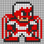 Alpha pattern #58884