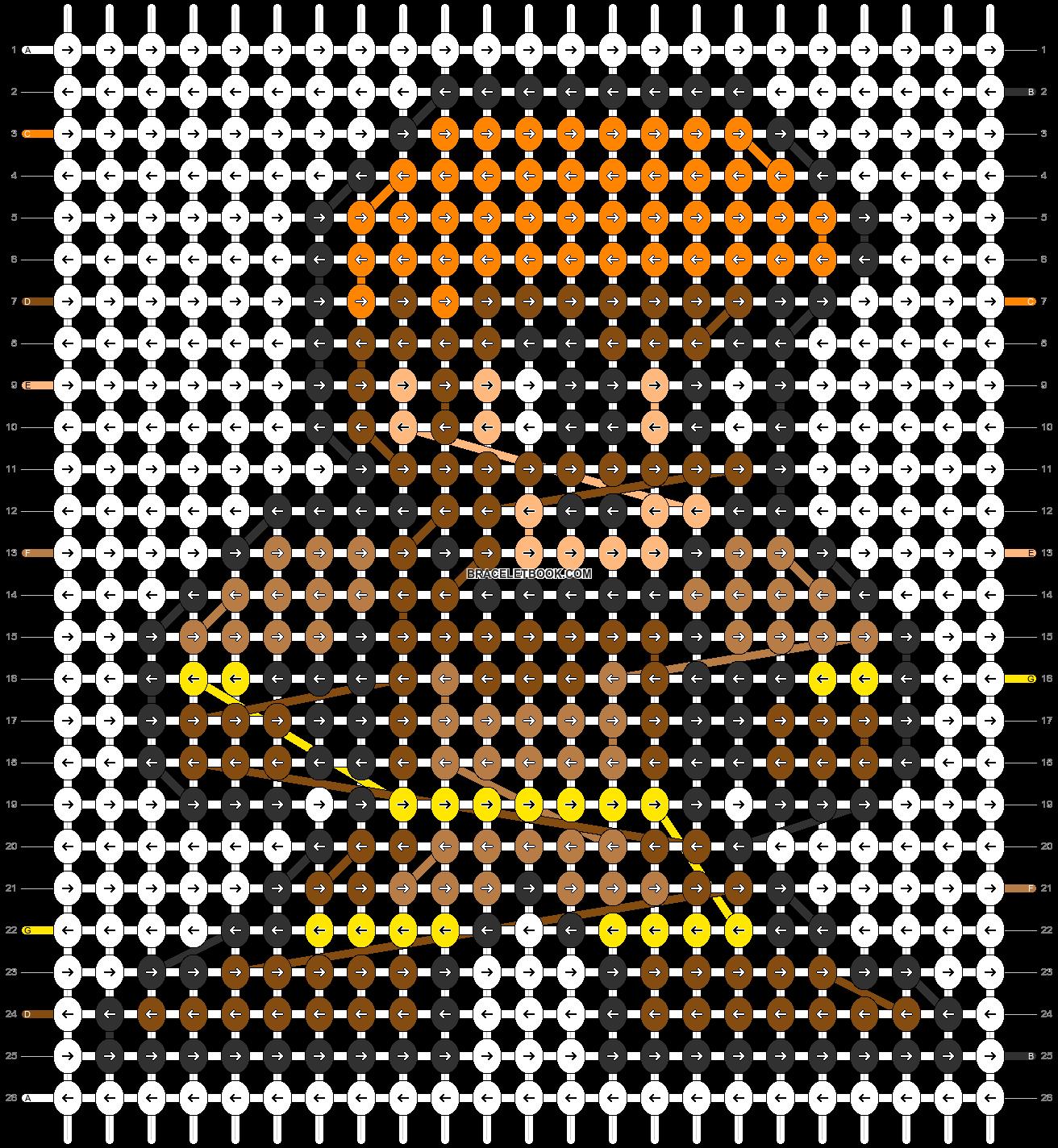 Alpha pattern #58885 pattern