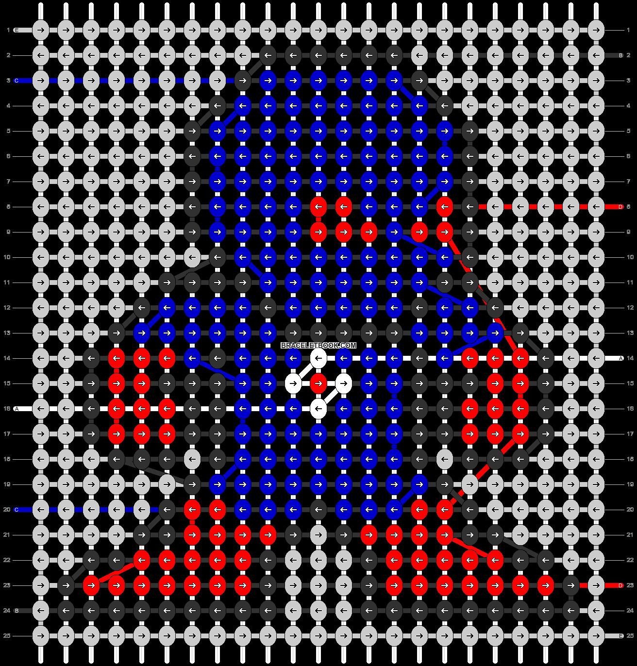 Alpha pattern #58887 pattern