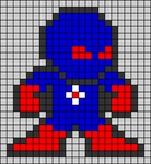 Alpha pattern #58887