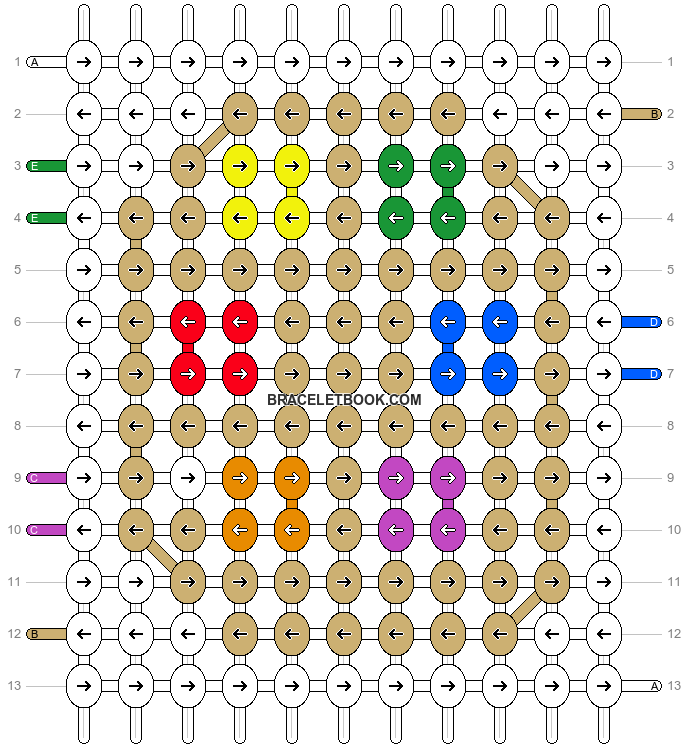 Alpha pattern #58901 pattern