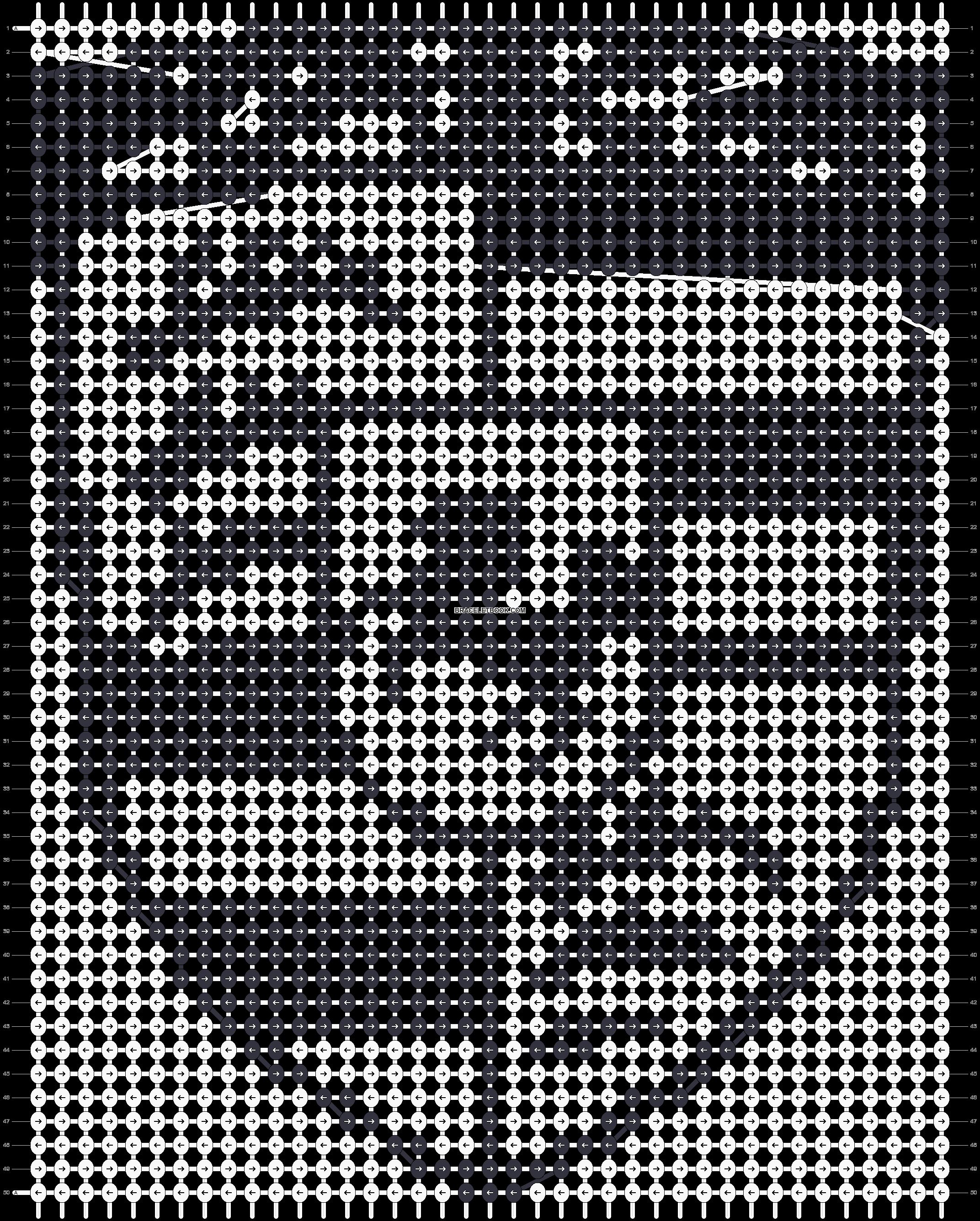 Alpha pattern #58903 pattern