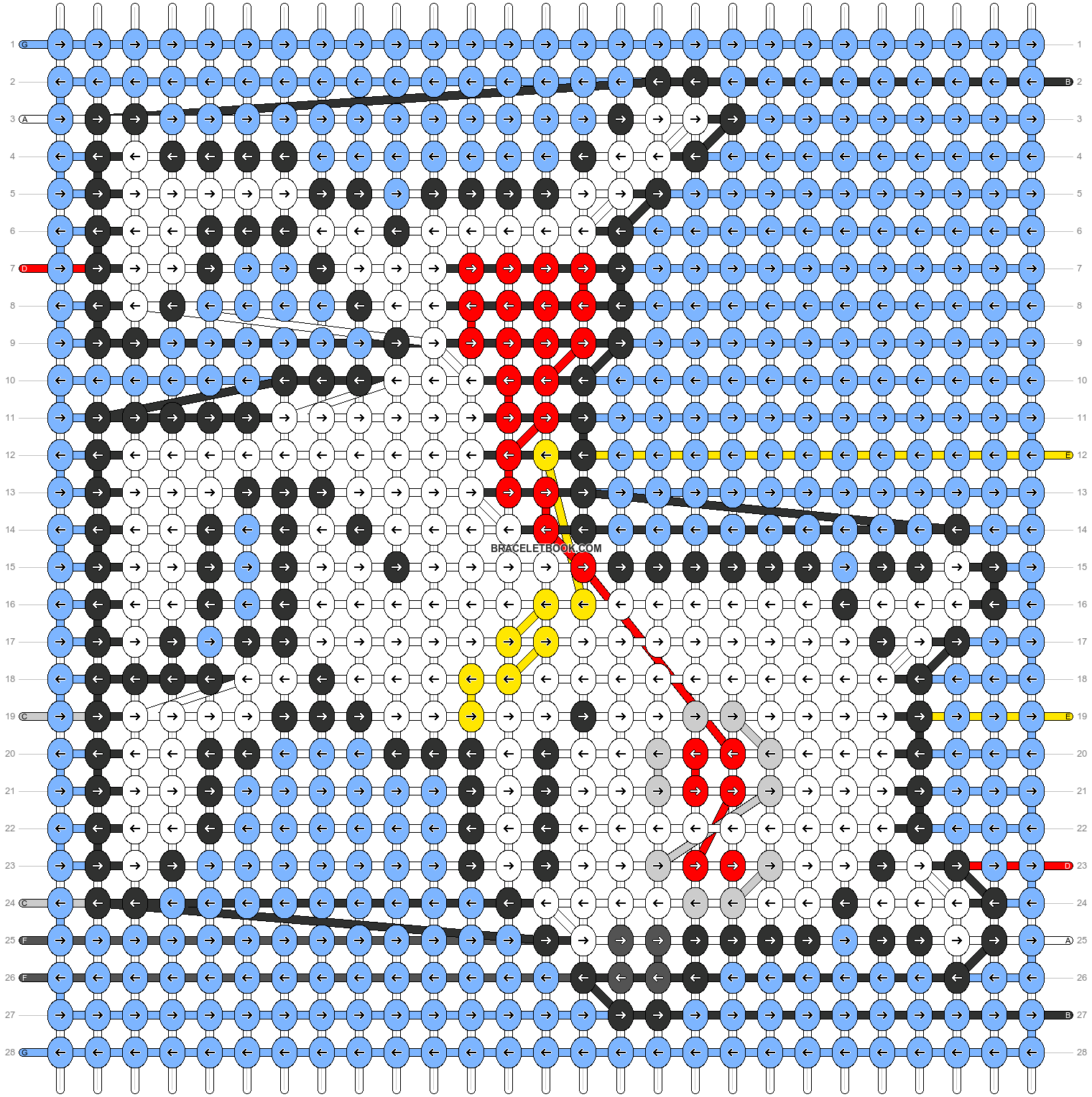Alpha pattern #58910 pattern