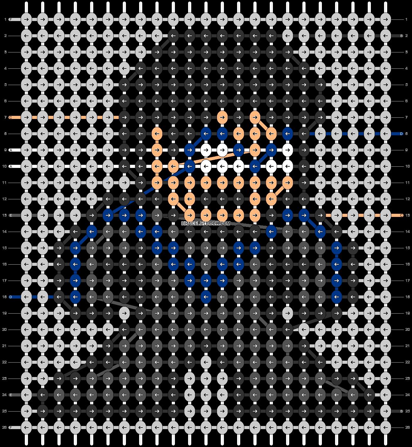 Alpha pattern #58916 pattern
