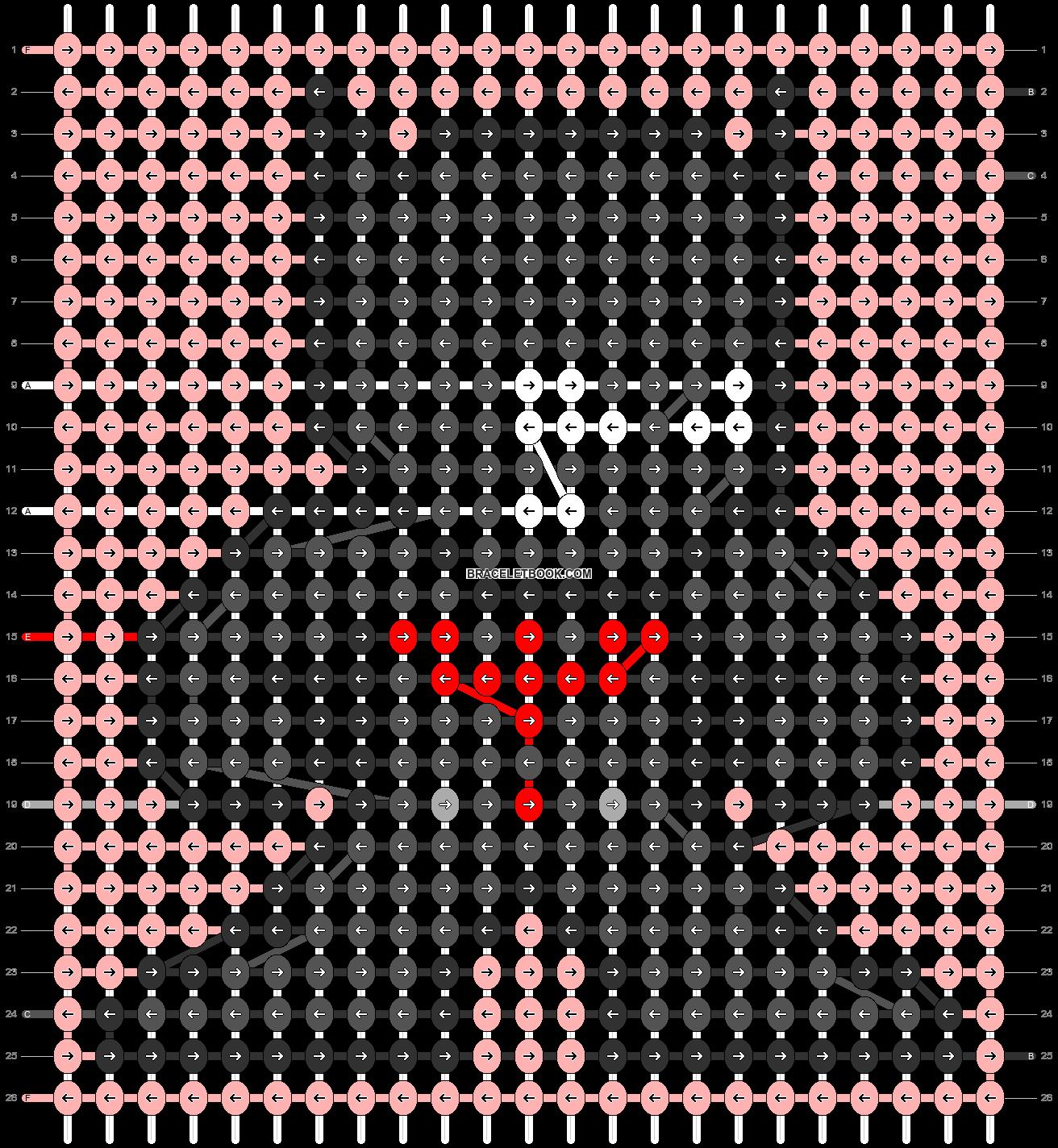 Alpha pattern #58919 pattern