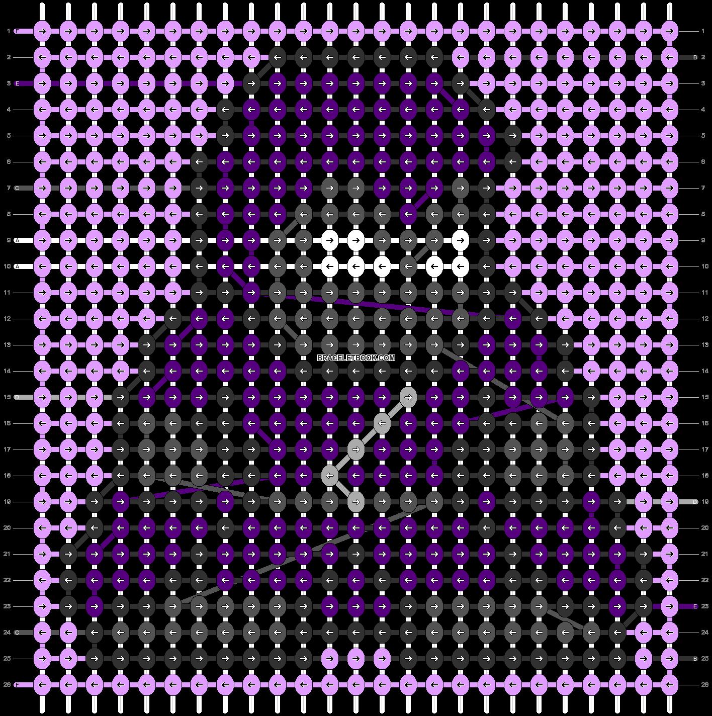 Alpha pattern #58923 pattern