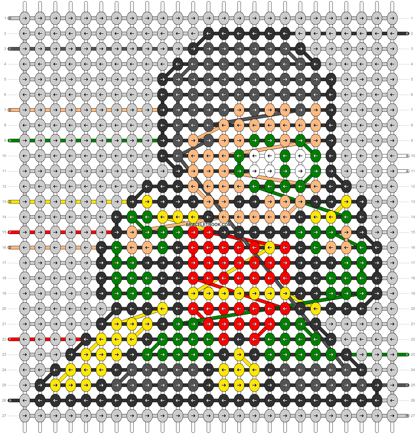 Alpha pattern #58930 pattern