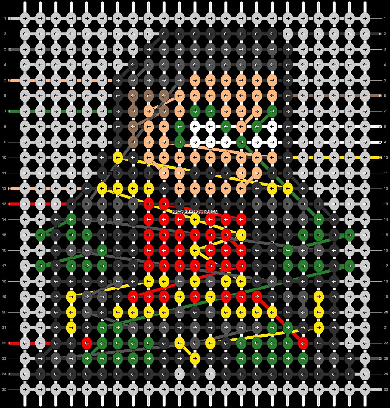 Alpha pattern #58933 pattern