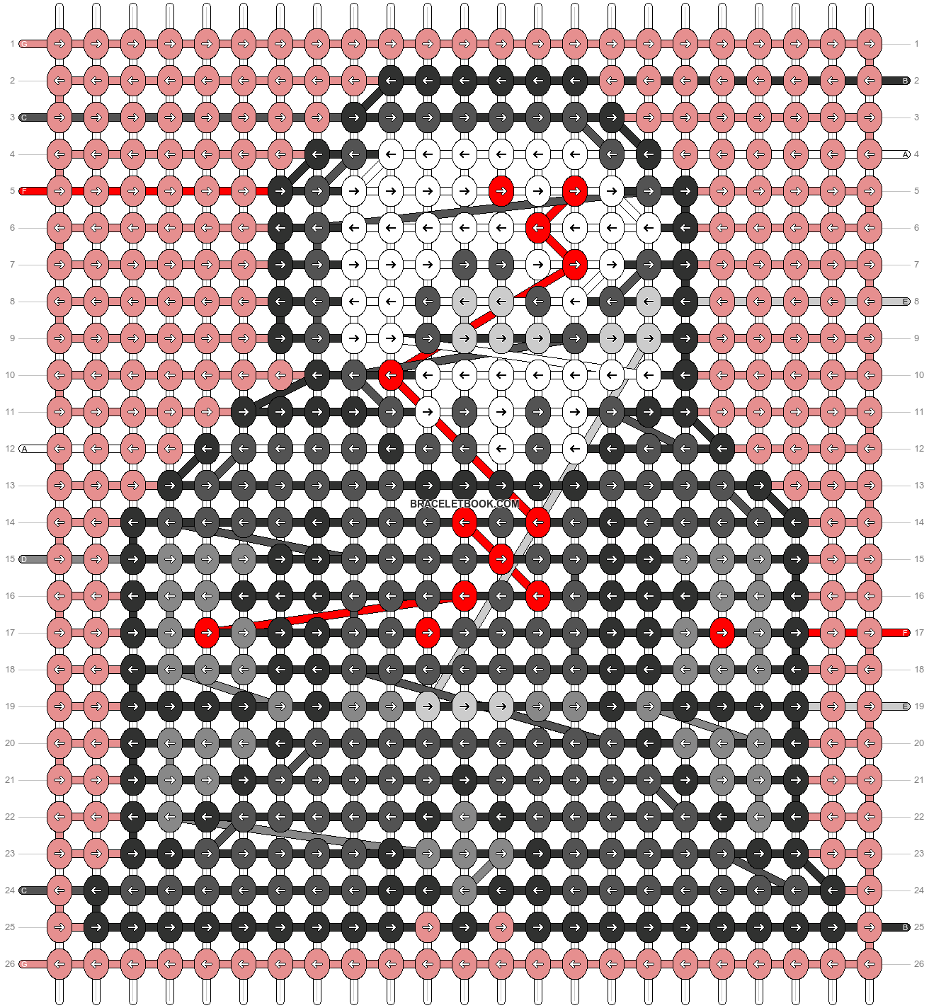 Alpha pattern #58937 pattern