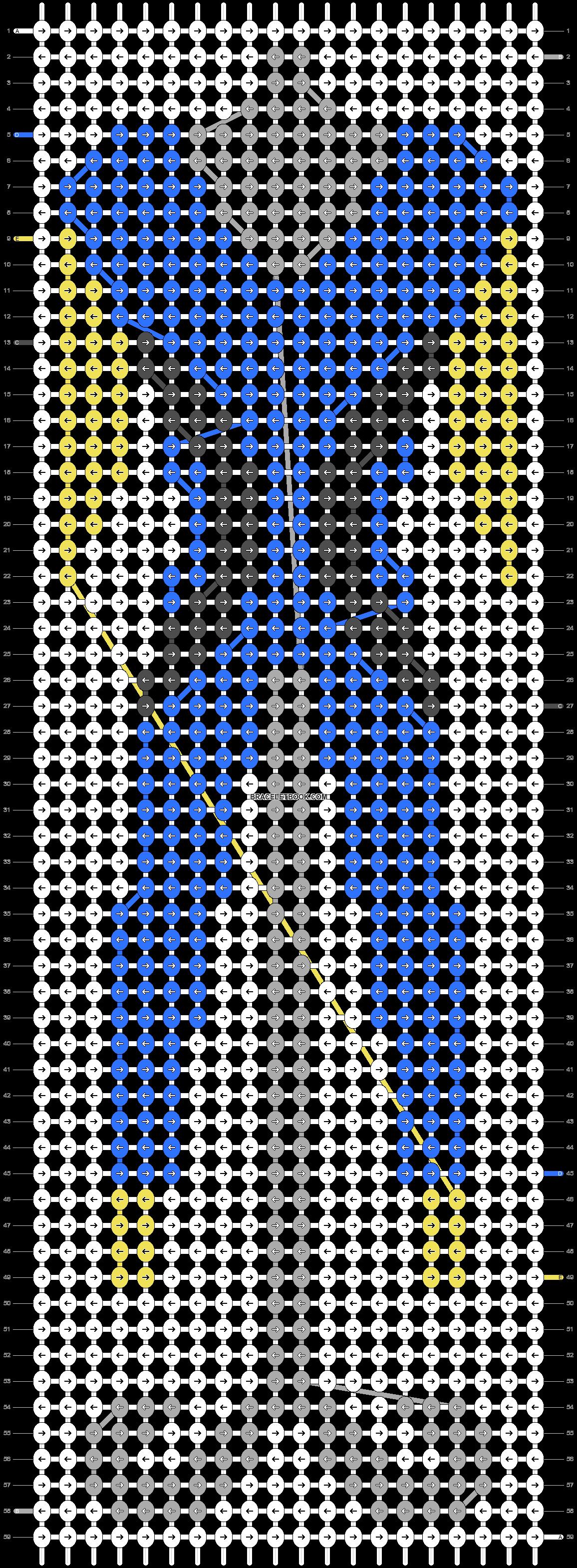 Alpha pattern #58952 pattern