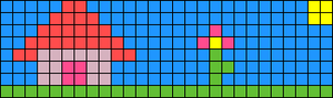 Alpha pattern #58963