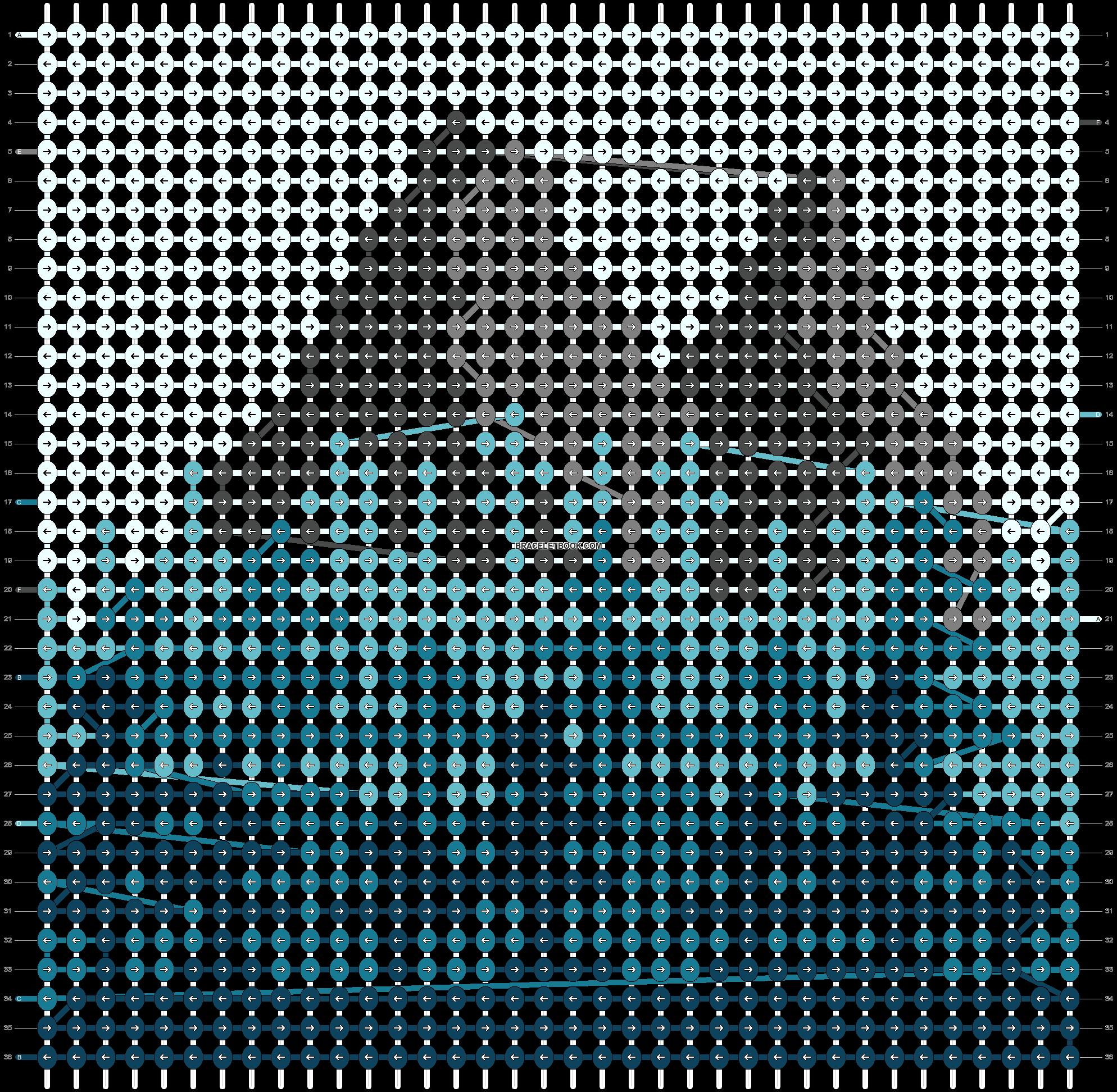 Alpha pattern #58966 pattern