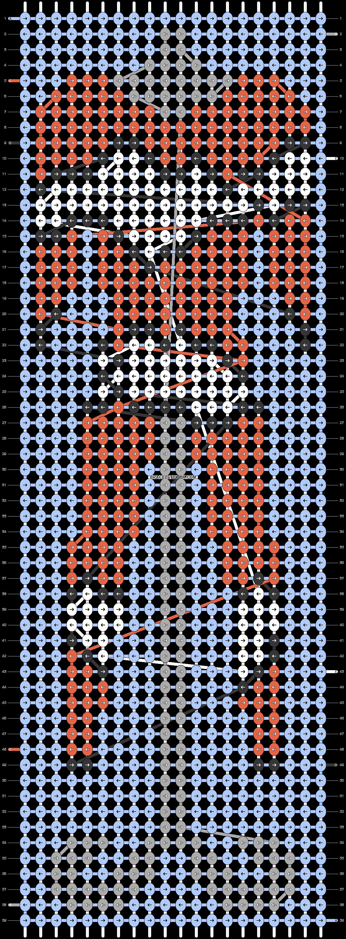 Alpha pattern #58967 pattern
