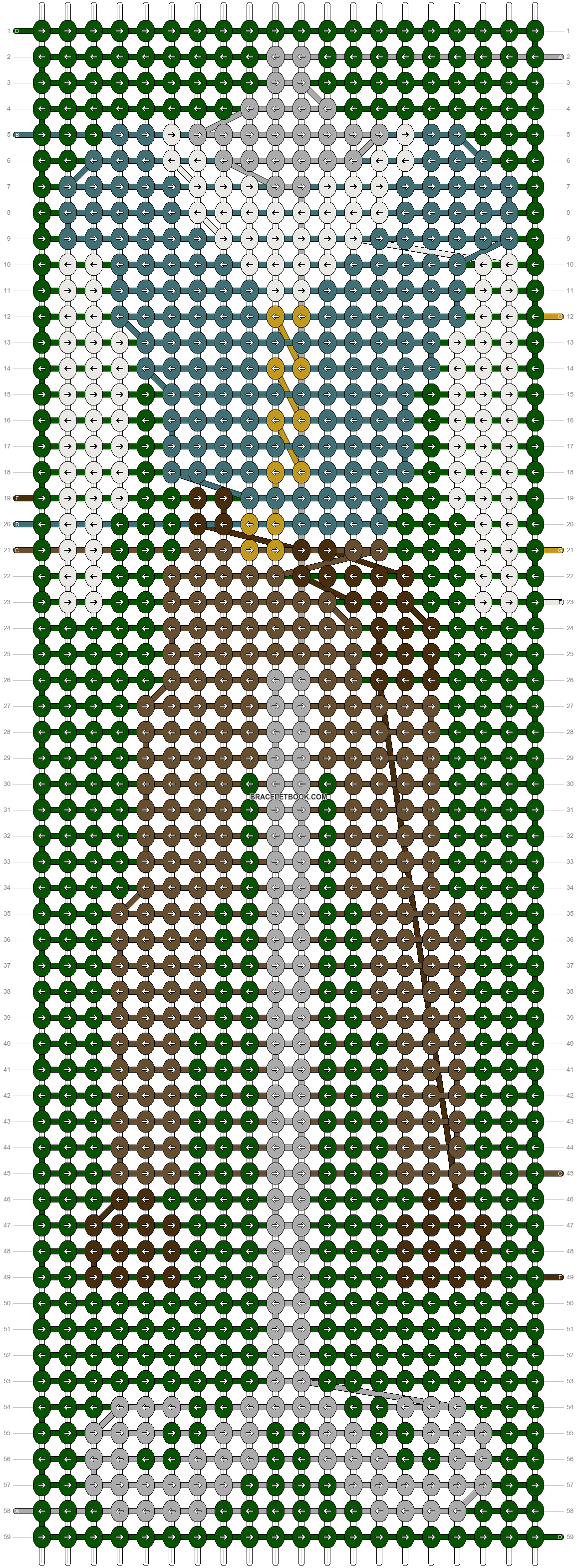 Alpha pattern #58970 pattern