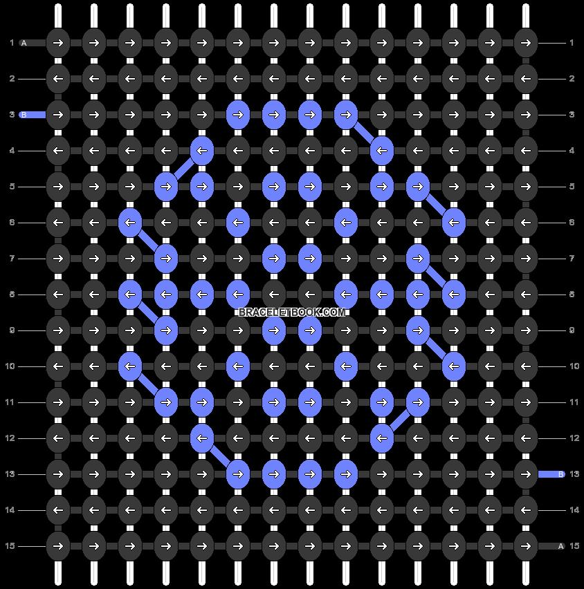 Alpha pattern #58981 pattern