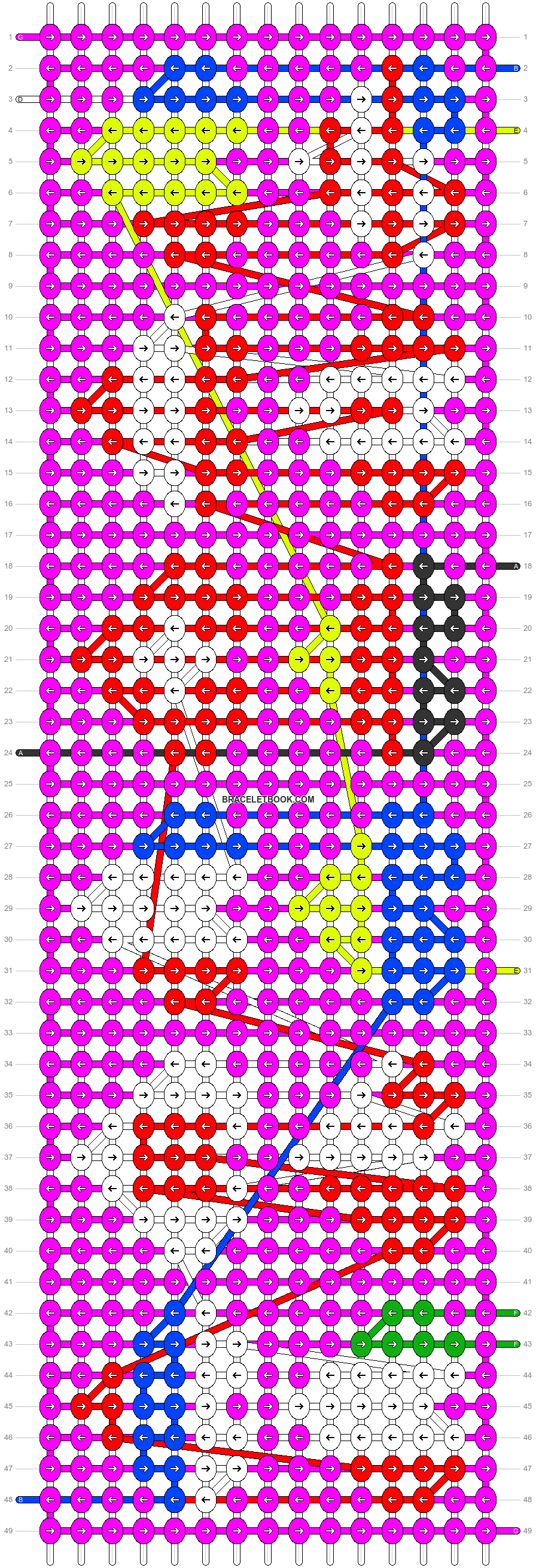 Alpha pattern #58991 pattern