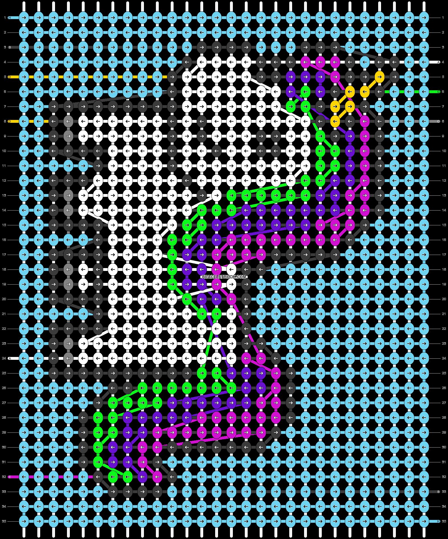 Alpha pattern #59010 pattern