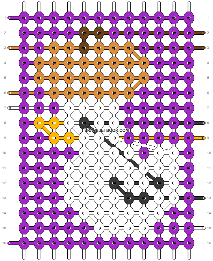 Alpha pattern #59044 pattern