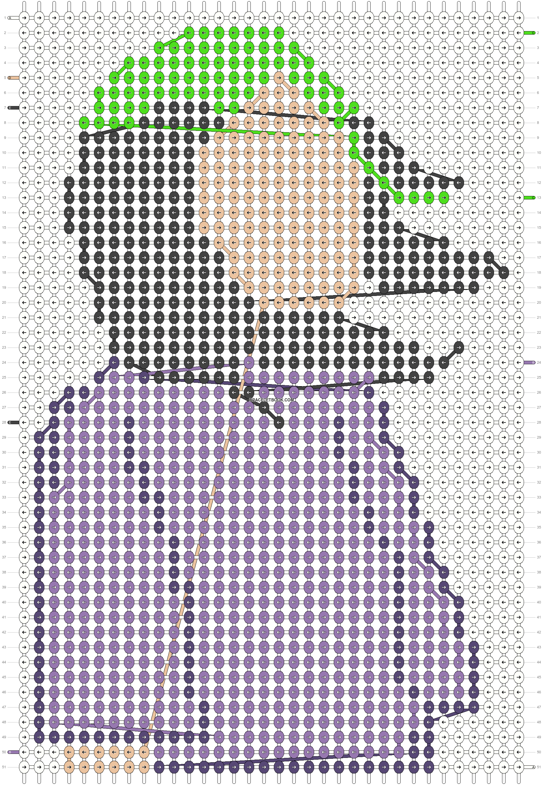Alpha pattern #59072 pattern