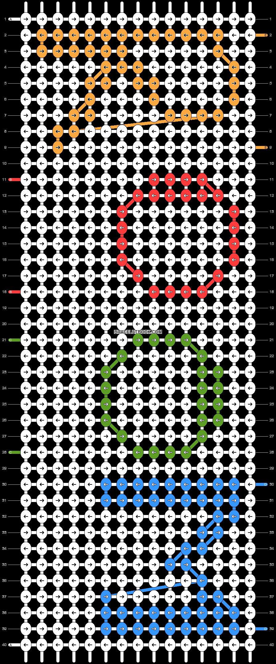 Alpha pattern #59073 pattern