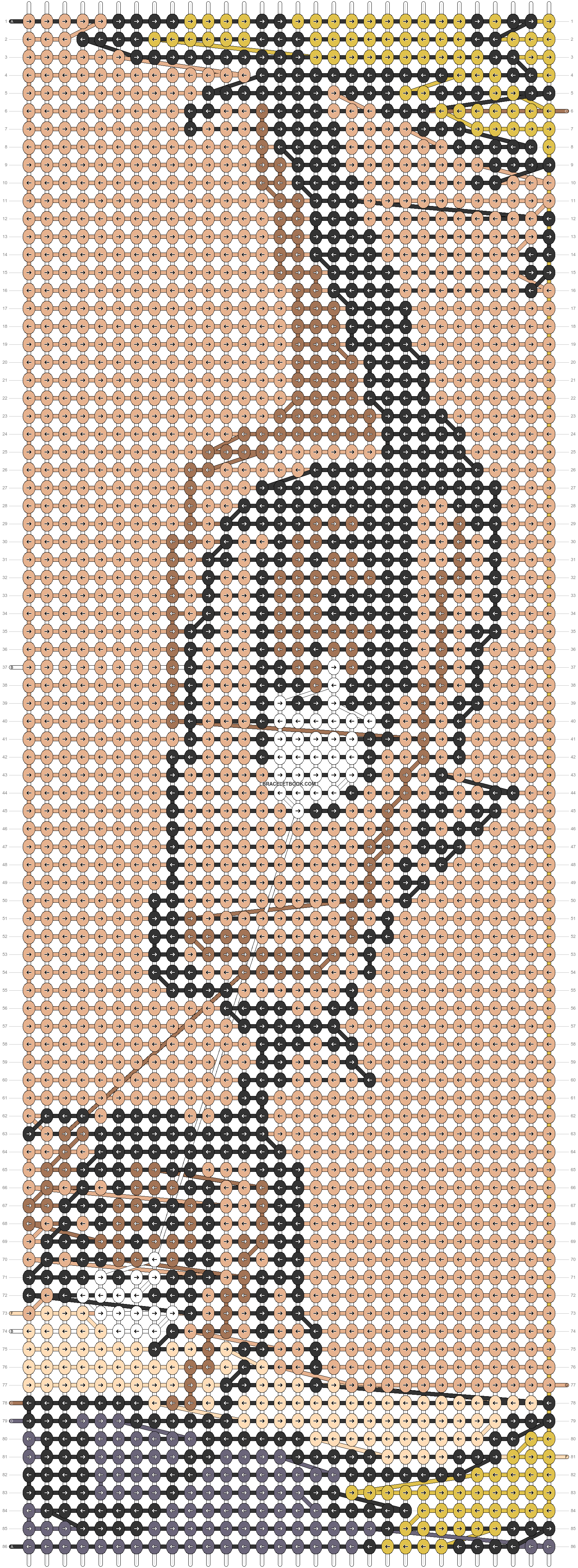 Alpha pattern #59077 pattern