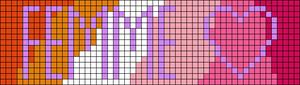 Alpha pattern #59093