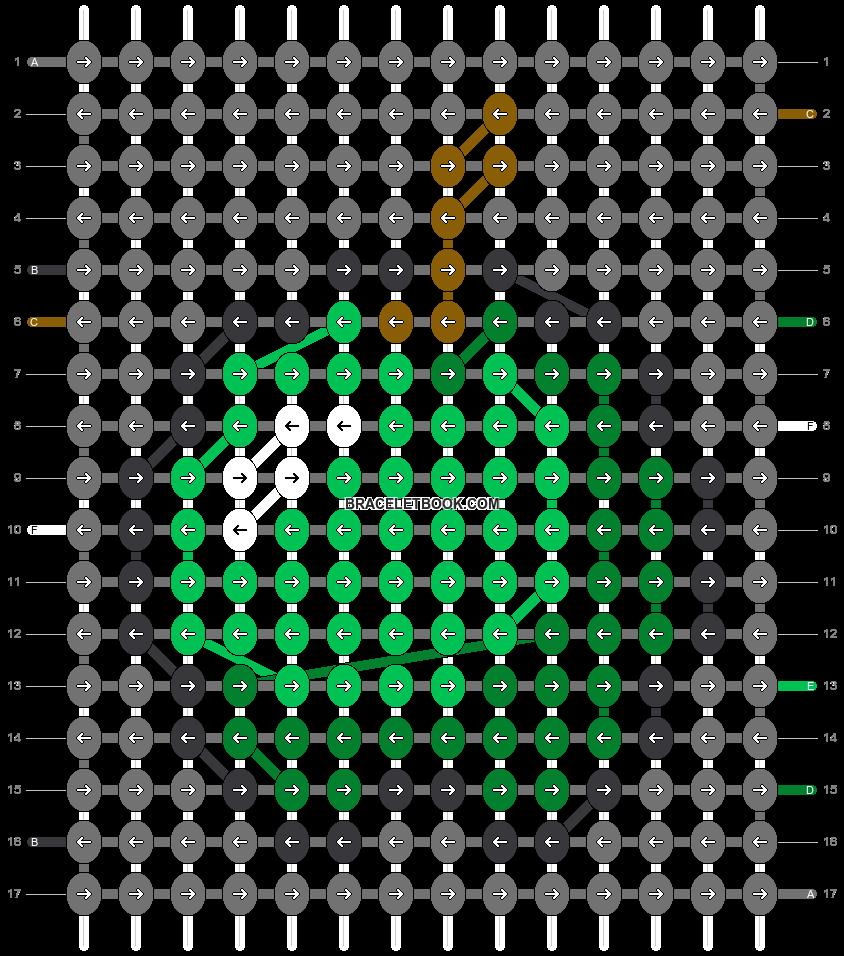 Alpha pattern #59099 pattern