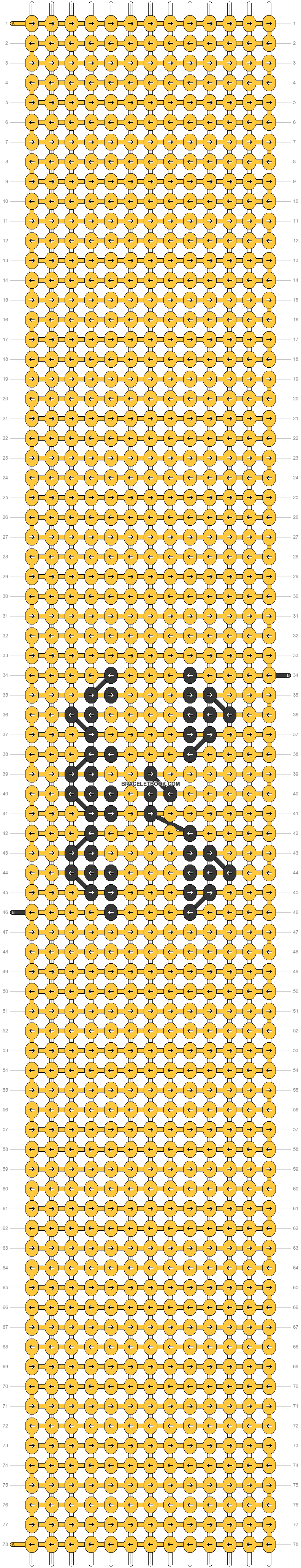 Alpha pattern #59110 pattern