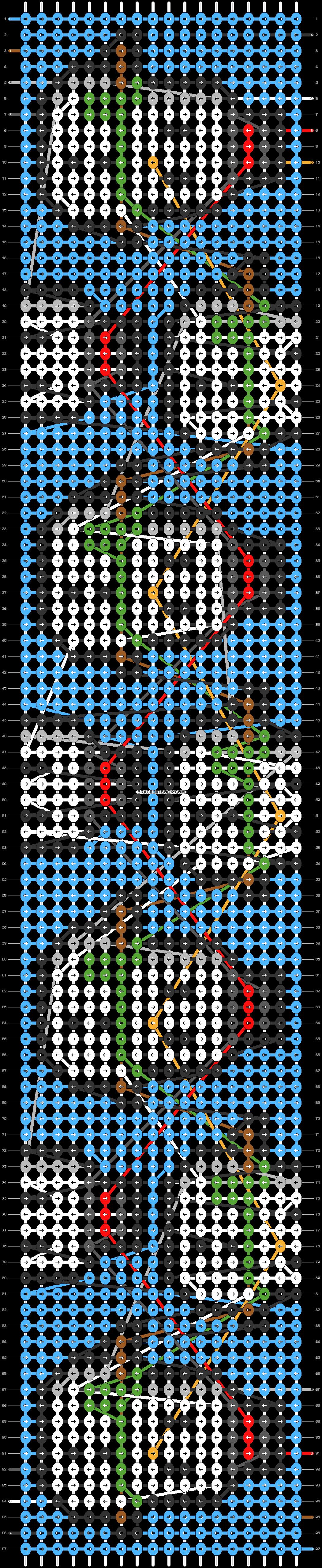 Alpha pattern #59253 pattern