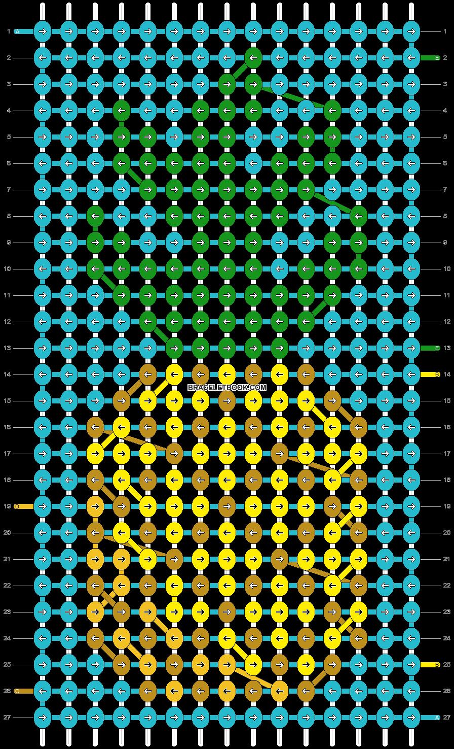 Alpha pattern #59254 pattern