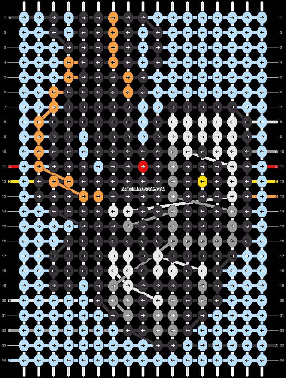Alpha pattern #59376 pattern