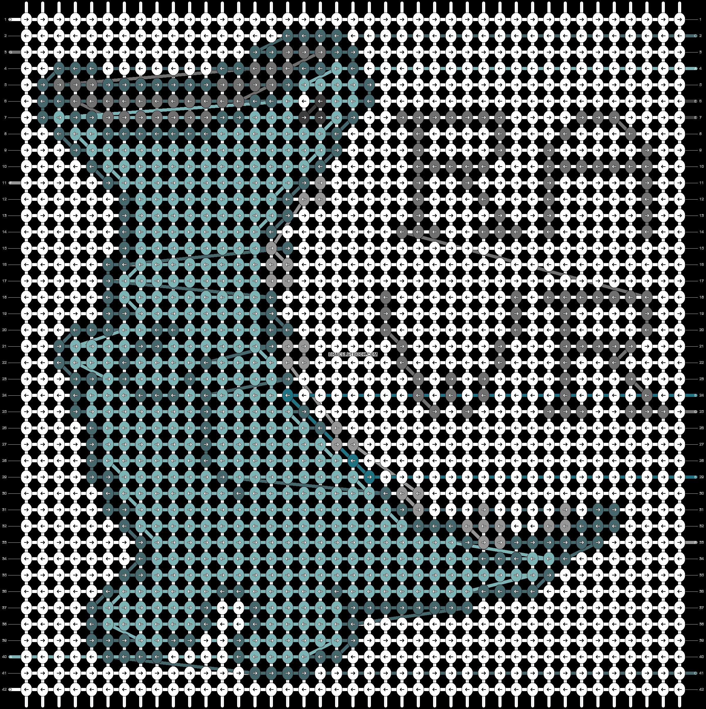Alpha pattern #59407 pattern