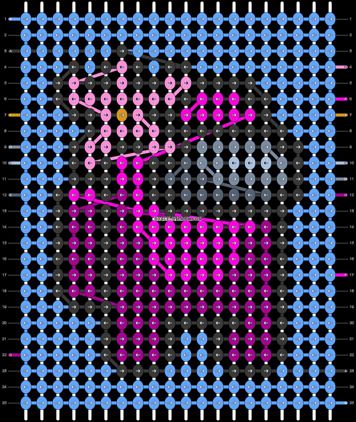 Alpha pattern #59414 pattern