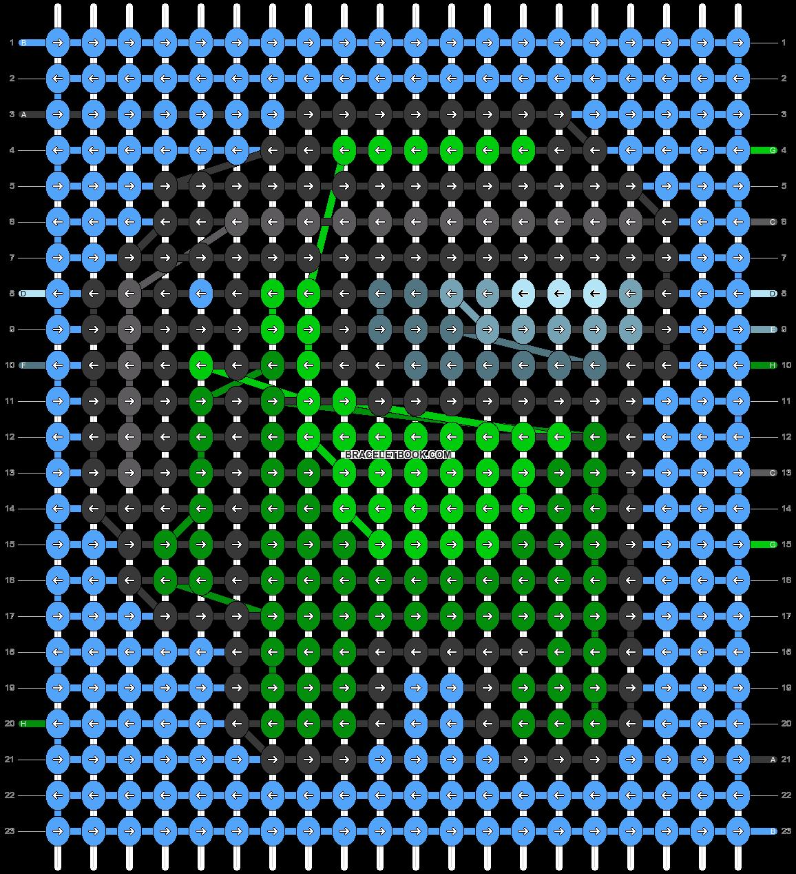Alpha pattern #59415 pattern