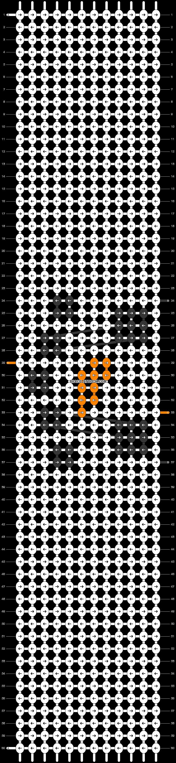 Alpha pattern #59448 pattern