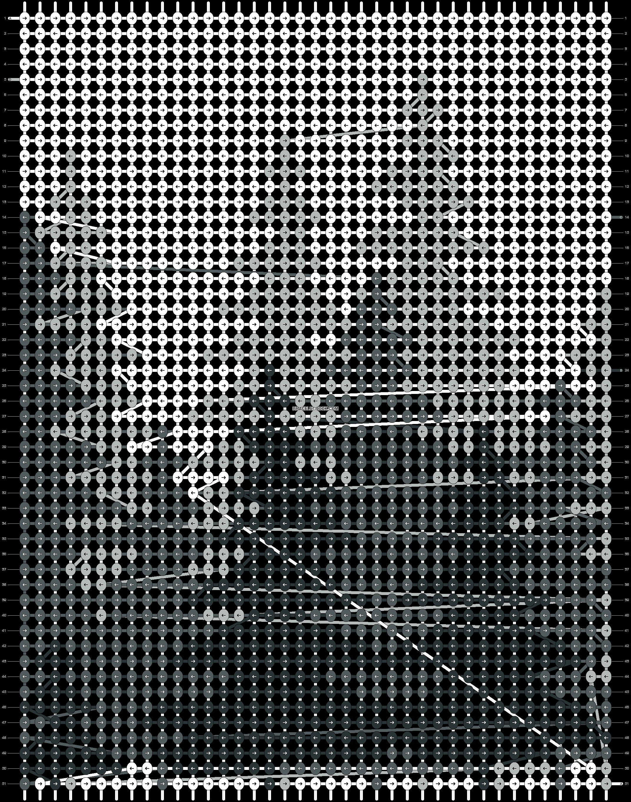 Alpha pattern #59451 pattern
